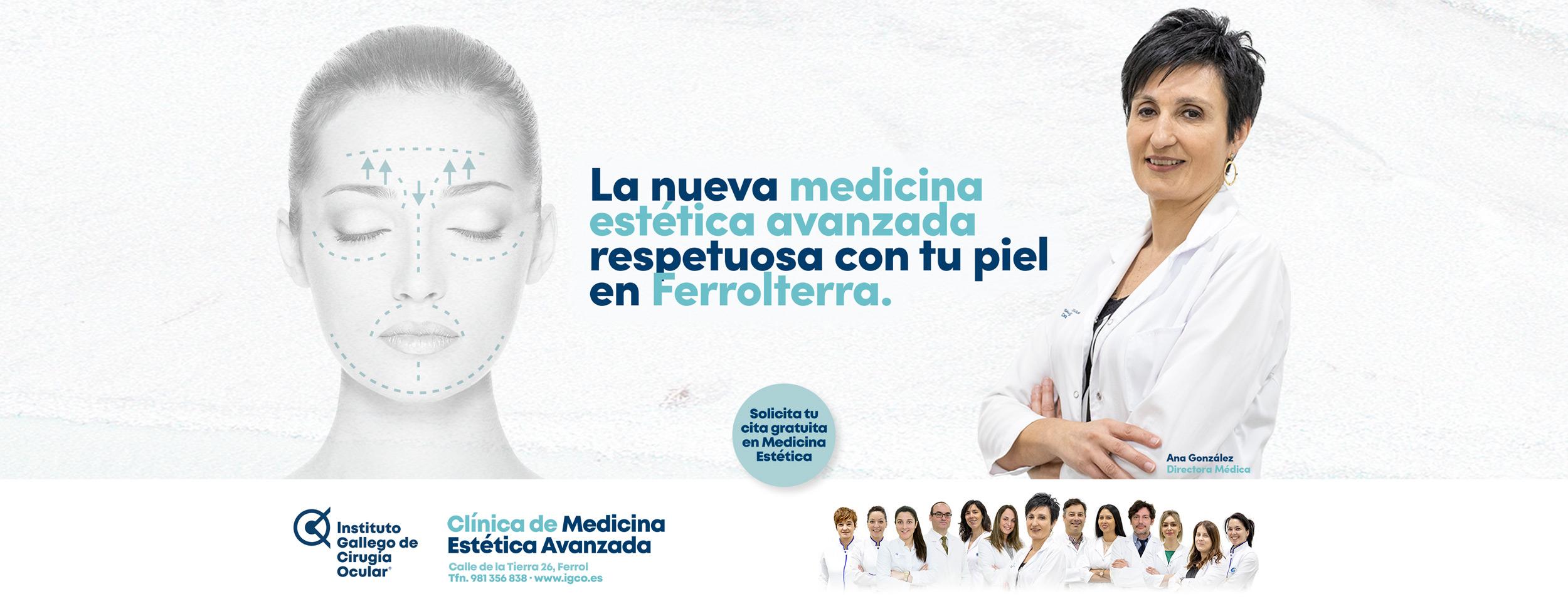 Medicina estética en Ferrol - Instituto Gallego de Cirugía Ocular